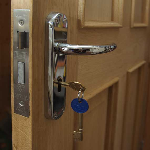 James Charnley Preston joiner - hading doors and fitting locks and furniture