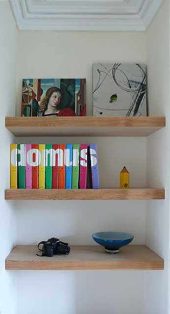James Charnley Preston joiner - shelving